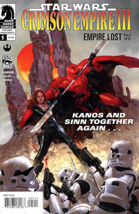 Cover Thumbnail for Star Wars: Crimson Empire III - Empire Lost (Dark Horse, 2011 series) #5