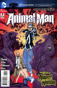 Cover Thumbnail for Animal Man (DC, 2011 series) #7