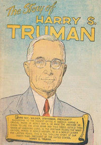 Cover Thumbnail for The Story of Harry S. Truman (Commercial Comics, 1948 series)