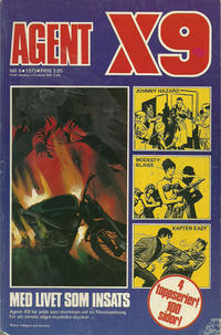 Cover Thumbnail for Agent X9 (Semic, 1971 series) #5/1973