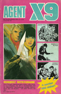 Cover Thumbnail for Agent X9 (Semic, 1971 series) #4/1974