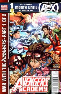 Cover Thumbnail for Avengers Academy (Marvel, 2010 series) #27