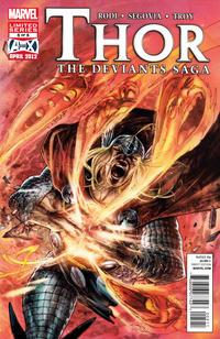Cover Thumbnail for Thor: The Deviants Saga (Marvel, 2012 series) #5