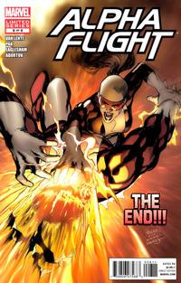 Cover Thumbnail for Alpha Flight (Marvel, 2011 series) #8