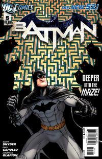 Cover Thumbnail for Batman (DC, 2011 series) #5 [Chris Burnham Cover]