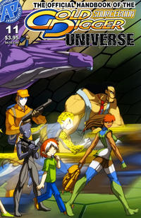 Cover Thumbnail for Gold Digger Sourcebook (Antarctic Press, 2006 series) #11