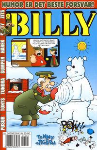 Cover Thumbnail for Billy (Hjemmet / Egmont, 1998 series) #4/2012