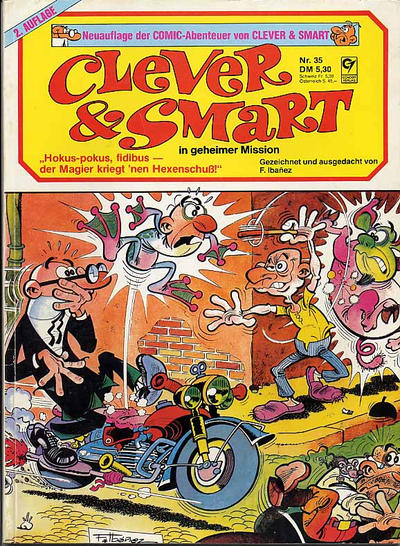 Cover for Clever & Smart (Condor, 1979 series) #35