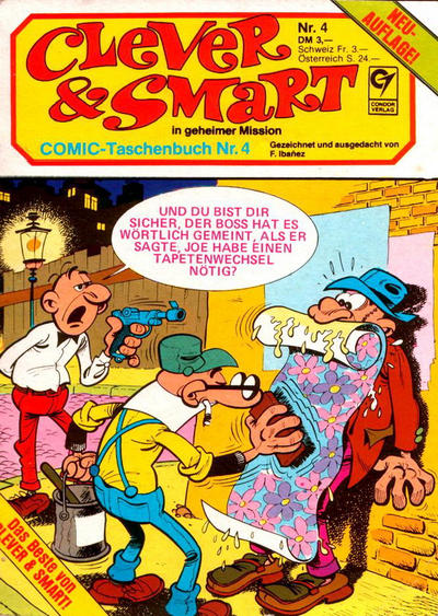 Cover for Clever & Smart (Condor, 1982 series) #4