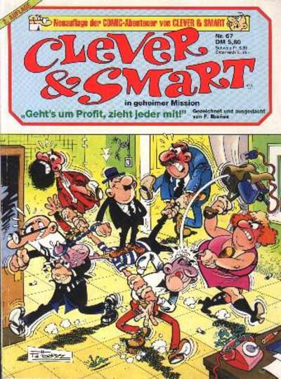 Cover for Clever & Smart (Condor, 1979 series) #67