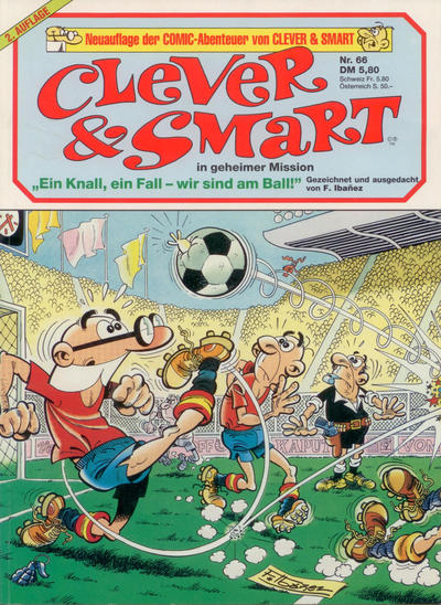 Cover for Clever & Smart (Condor, 1979 series) #66