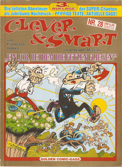 Cover for Clever & Smart (Condor, 1986 series) #28