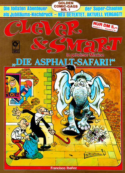 Cover for Clever & Smart (Condor, 1986 series) #1