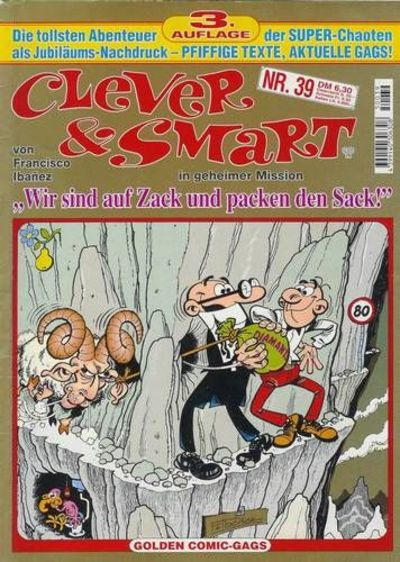 Cover for Clever & Smart (Condor, 1986 series) #39