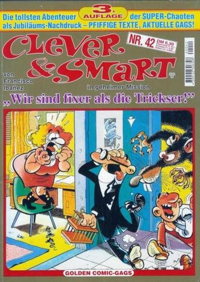 Cover for Clever & Smart (Condor, 1986 series) #42