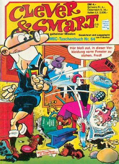 Cover for Clever & Smart (Condor, 1982 series) #64