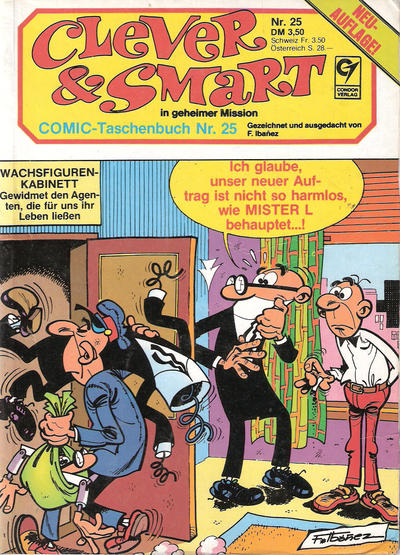 Cover for Clever & Smart (Condor, 1982 series) #25
