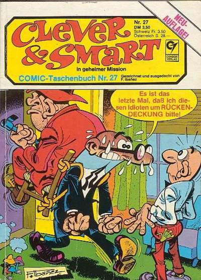 Cover for Clever & Smart (Condor, 1982 series) #27