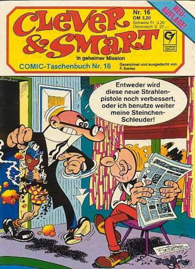 Cover for Clever & Smart (Condor, 1982 series) #16