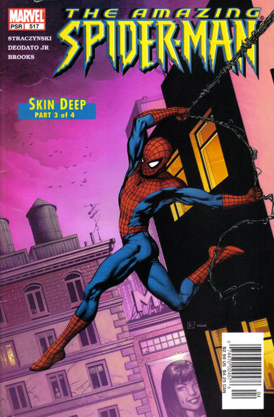 Cover for The Amazing Spider-Man (Marvel, 1999 series) #517 [Direct Edition]