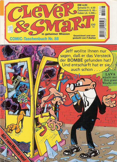 Cover for Clever & Smart (Condor, 1982 series) #88
