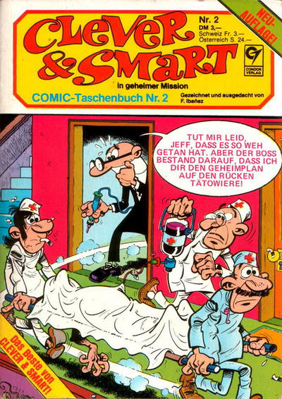 Cover for Clever & Smart (Condor, 1982 series) #2