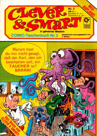 Cover for Clever & Smart (Condor, 1982 series) #5