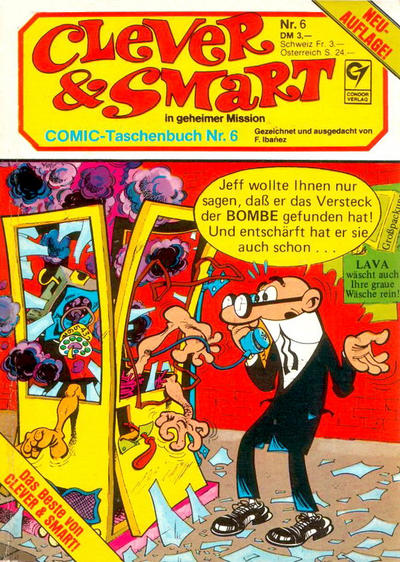 Cover for Clever & Smart (Condor, 1982 series) #6