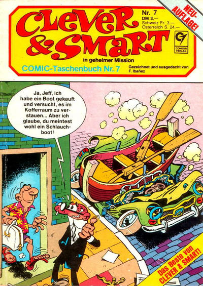 Cover for Clever & Smart (Condor, 1982 series) #7