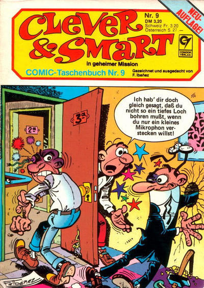 Cover for Clever & Smart (Condor, 1982 series) #9