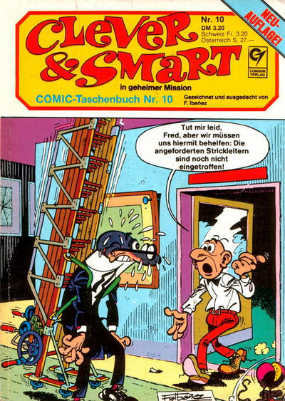 Cover for Clever & Smart (Condor, 1982 series) #10