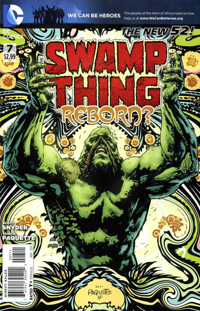 Cover for Swamp Thing (DC, 2011 series) #7