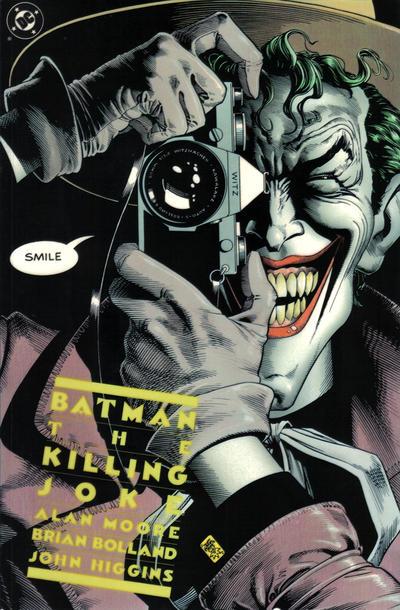 Cover for Batman: The Killing Joke (DC, 1988 series)  [First Printing]