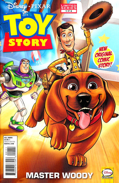 Cover for Toy Story (Marvel, 2012 series) #1