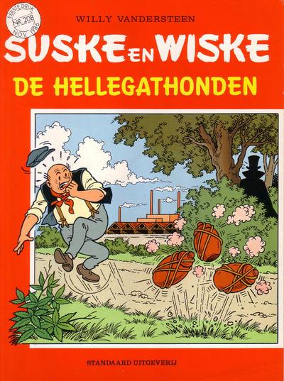 Cover for Suske en Wiske (Standaard Uitgeverij, 1967 series) #208 - De hellegathonden
