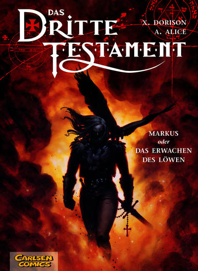 Cover for Das dritte Testament (Carlsen Comics [DE], 2002 series) #1