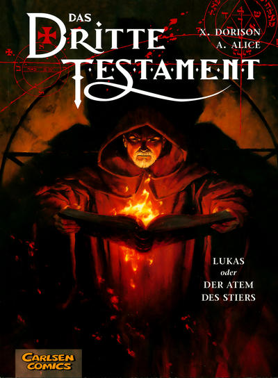 Cover for Das dritte Testament (Carlsen Comics [DE], 2002 series) #3
