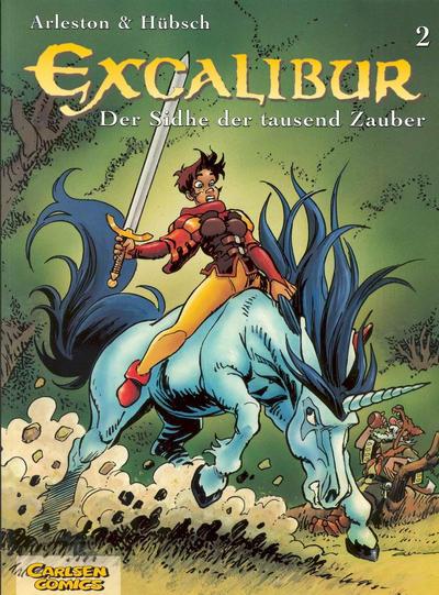 Cover for Excalibur (Carlsen Comics [DE], 2001 series) #2 - Der Sidhe der tausend Zauber