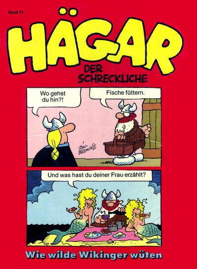 Cover for Hägar (Egmont Ehapa, 1975 series) #13