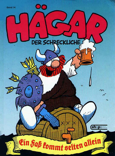 Cover for Hägar (Egmont Ehapa, 1975 series) #14