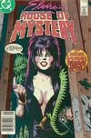 Cover Thumbnail for Elvira's House of Mystery (1986 series) #1 [Newsstand]