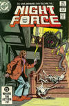 Cover for The Night Force (DC, 1982 series) #8 [Direct-Sales]