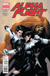 Cover Thumbnail for Alpha Flight (2011 series) #8 [Variant Cover by Leinil Yu]