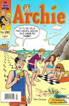 Cover for Archie (Editions Héritage, 1971 series) #293