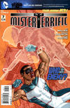 Cover for Mister Terrific (DC, 2011 series) #7