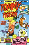 Cover for Tommy og Tigern (Bladkompaniet / Schibsted, 1989 series) #2/1991