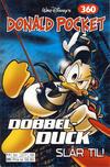 Cover for Donald Pocket (Hjemmet / Egmont, 1968 series) #360 - Dobbel-Duck slår til! [Reutsendelse bc 277 58]