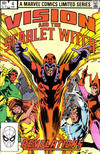 Cover Thumbnail for The Vision and the Scarlet Witch (1982 series) #4 [Direct Edition]