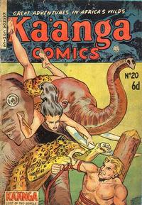 Cover Thumbnail for Kaänga Comics (H. John Edwards, 1950 ? series) #20
