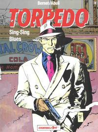 Cover Thumbnail for Torpedo (Carlsen Comics [DE], 1988 series) #4 - Sing-Sing Blues